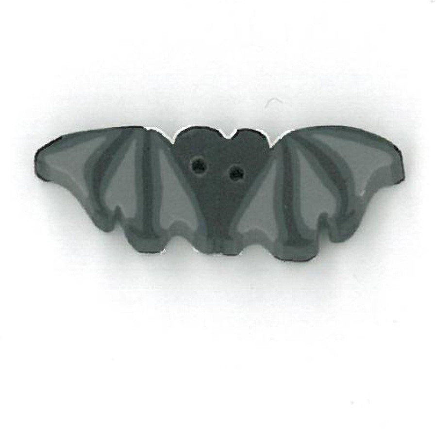 tiny flying black bat