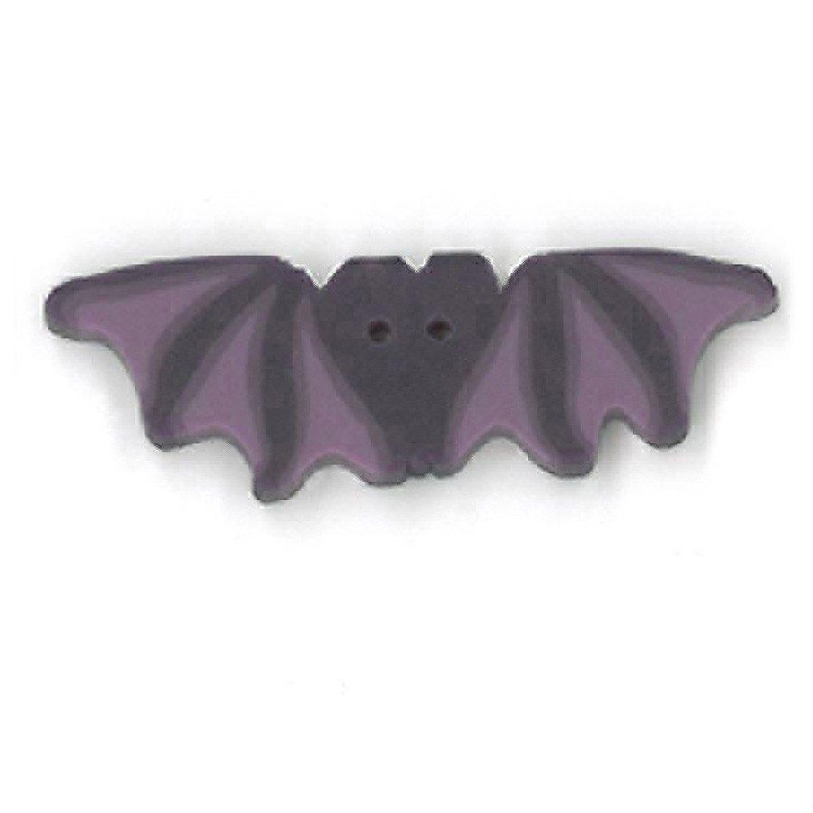 large purple bat