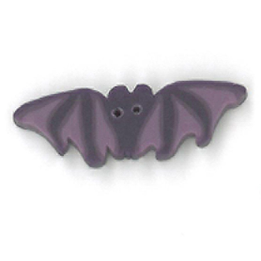 small purple bat
