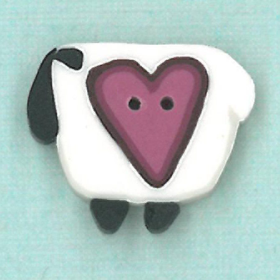 wooly heart sheep