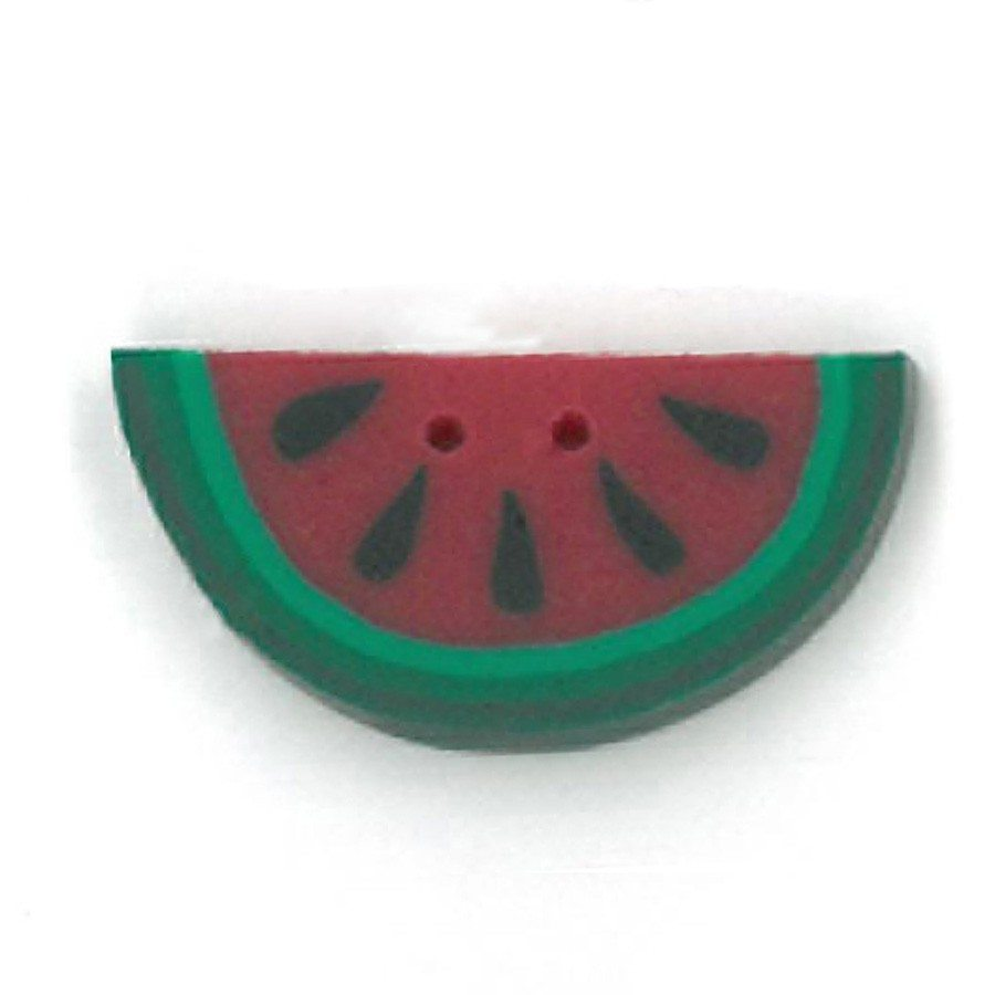 small red half watermelon