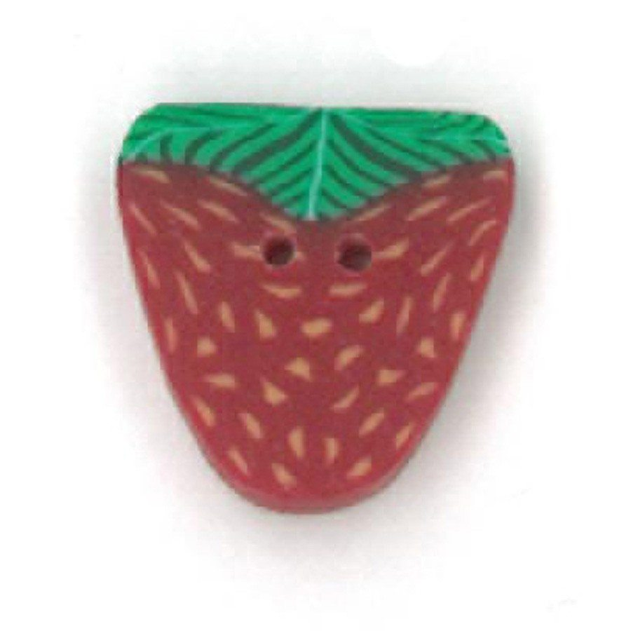 Small Strawberry Just Another Button Company Button 2203.s