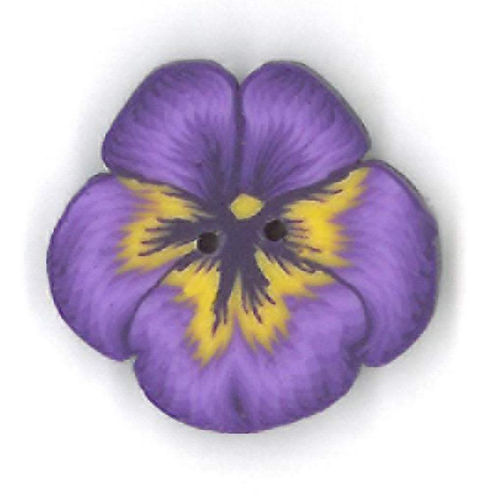 small purple pansy