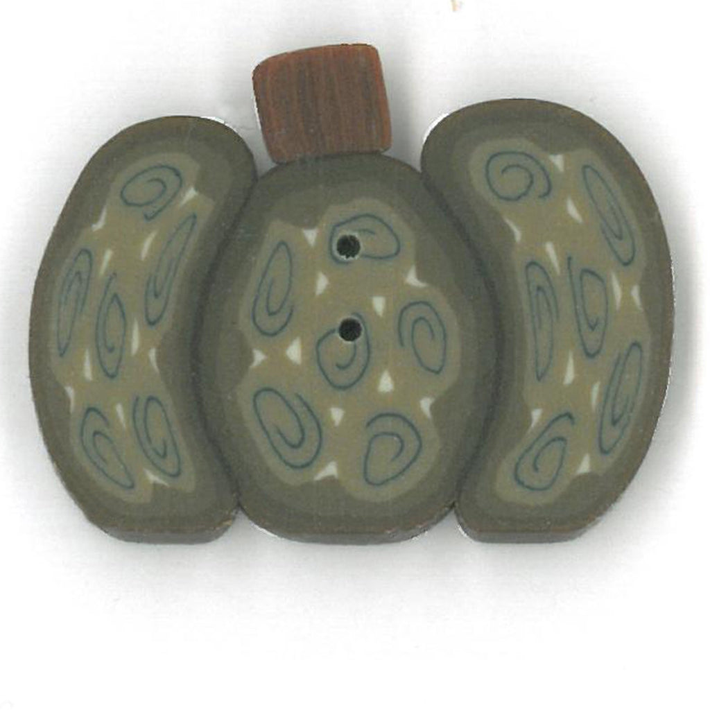 large green wild pumpkin