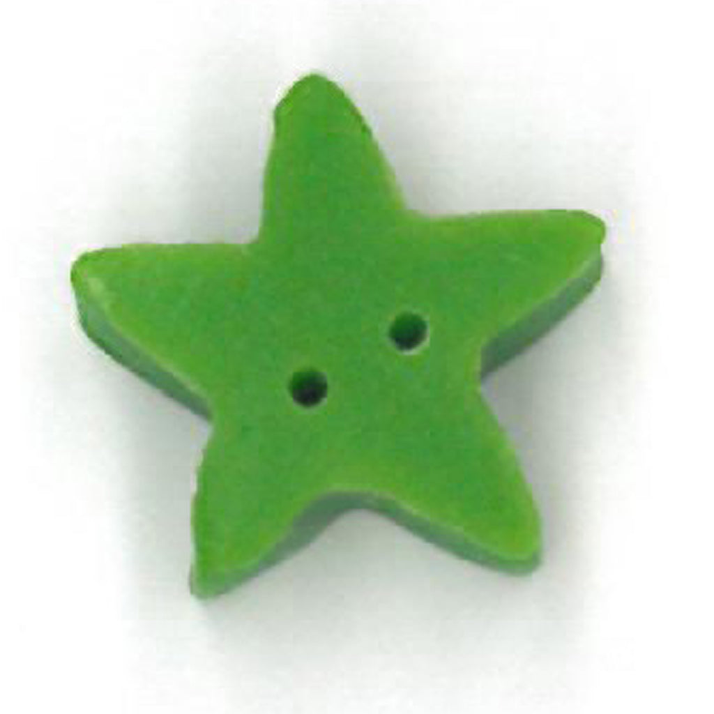 medium apple green star