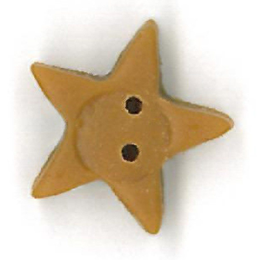 medium tarnished gold star