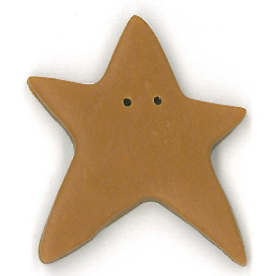 extra large tarnished gold star