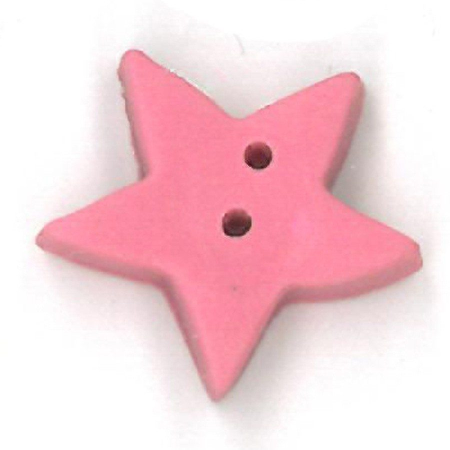 large baby pink star