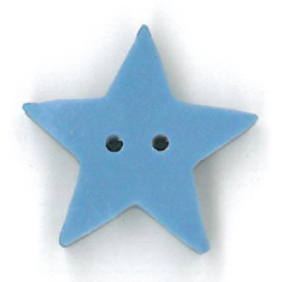 large baby blue star