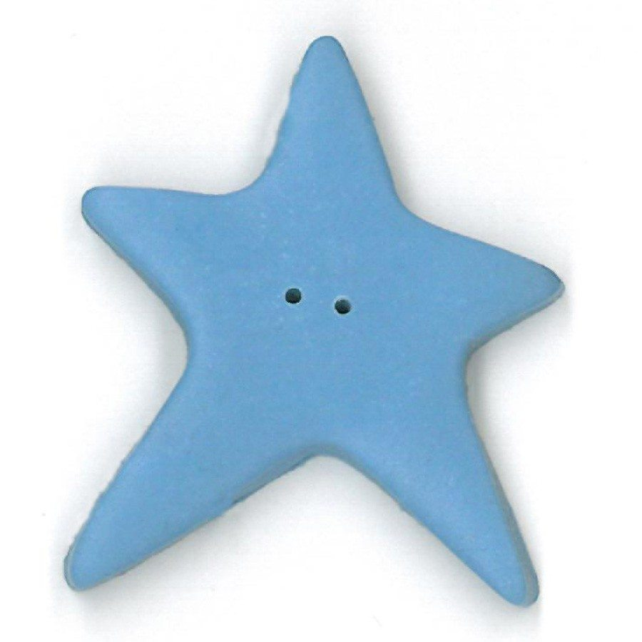 extra large baby blue star