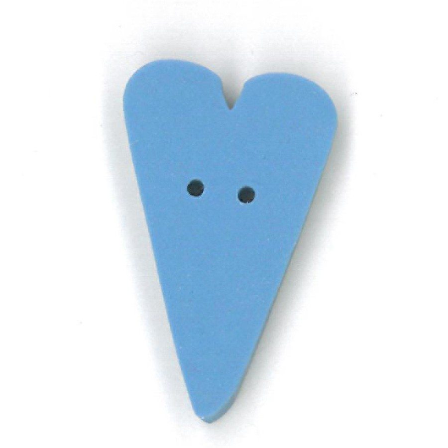 large baby blue heart