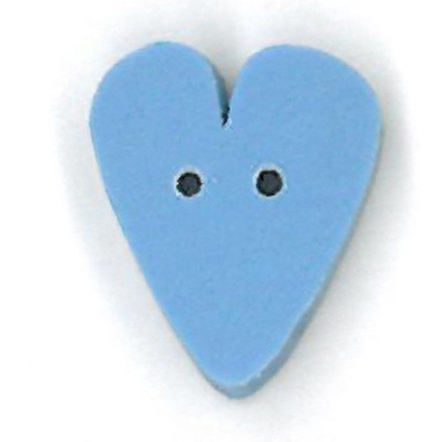 small baby blue heart