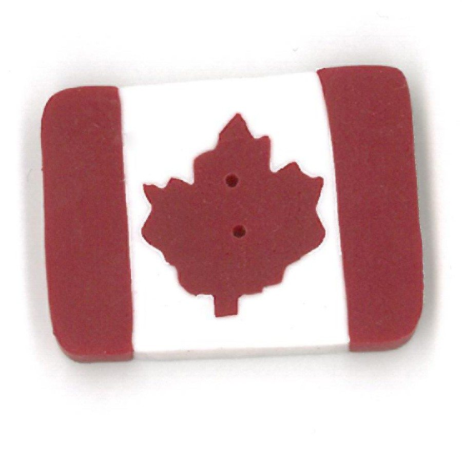 small Canadian flag