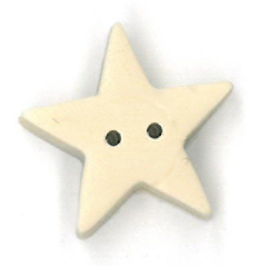 large tea-dyed star