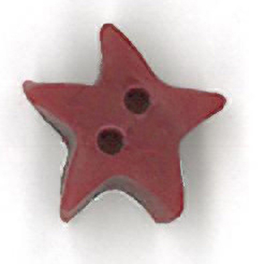 small folk art red star