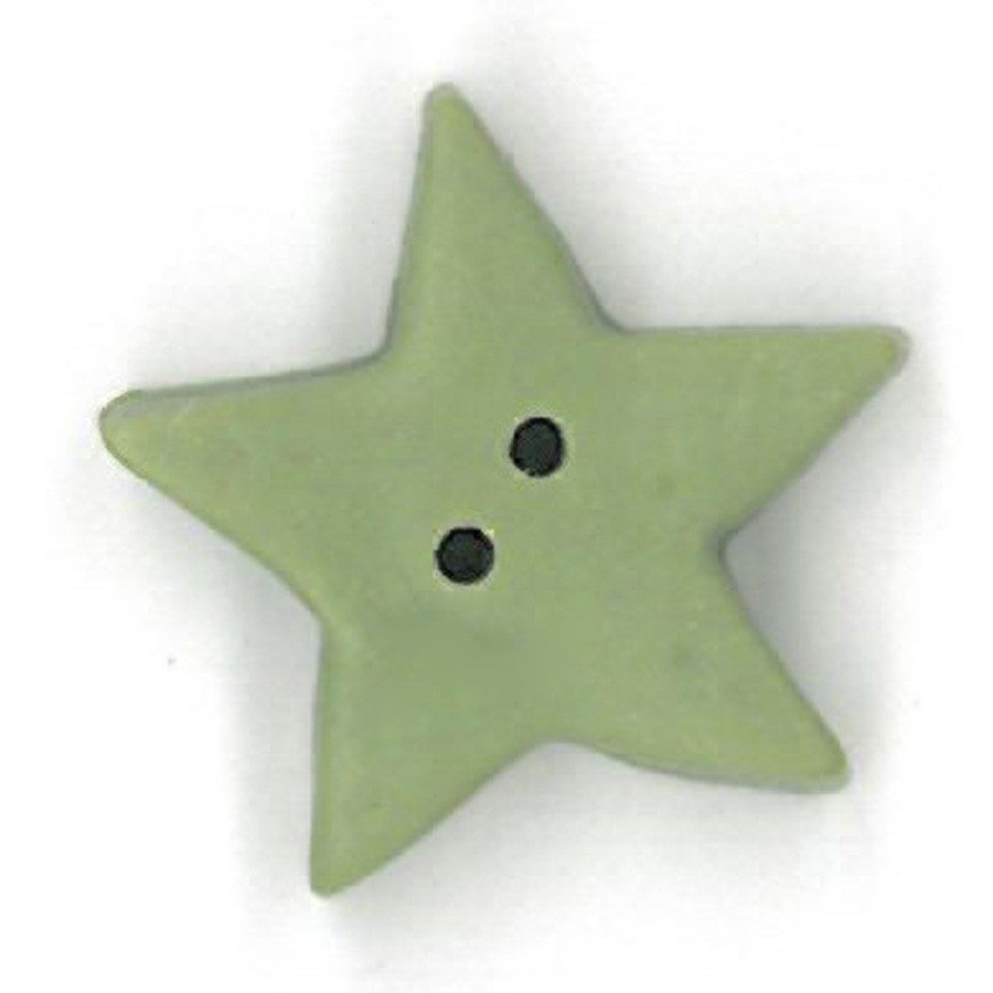 large pale sage star