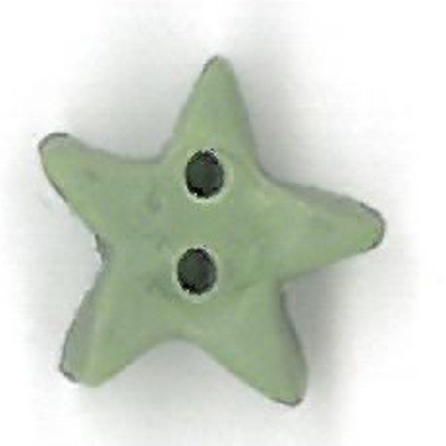 small pale sage star