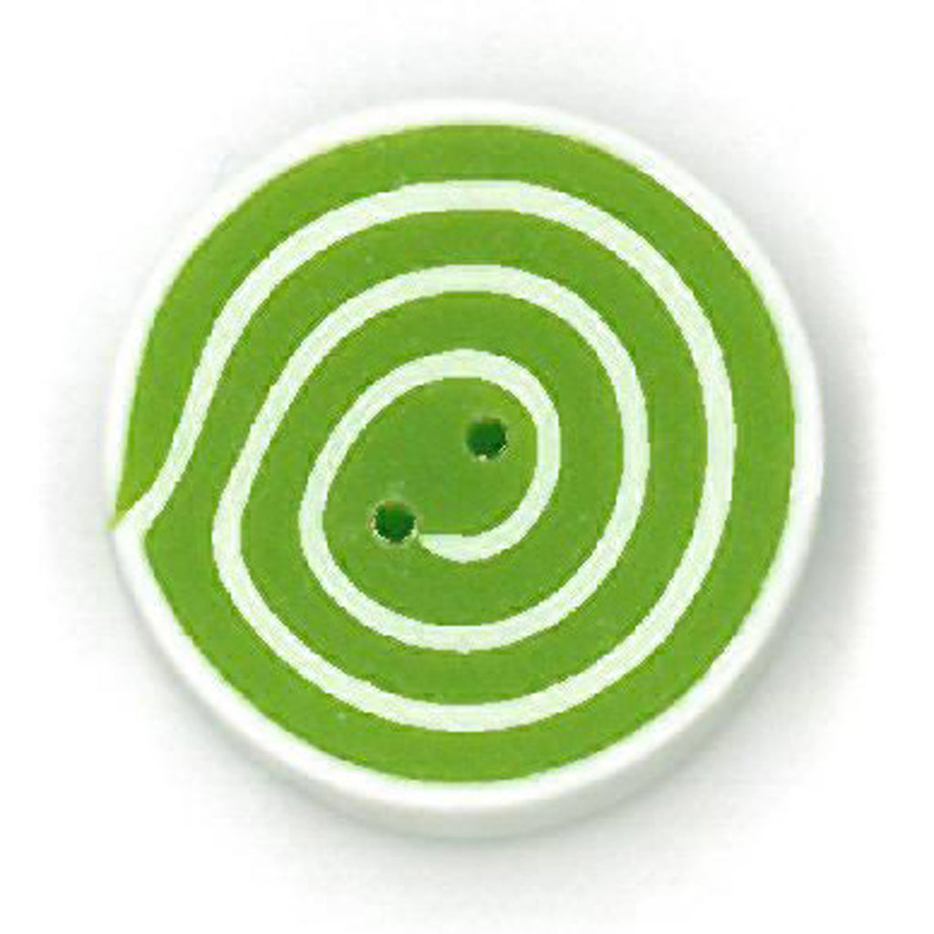 small lime & white swirl