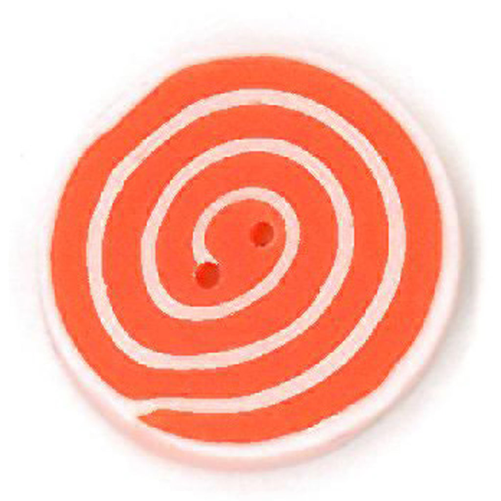 small orange & white swirl