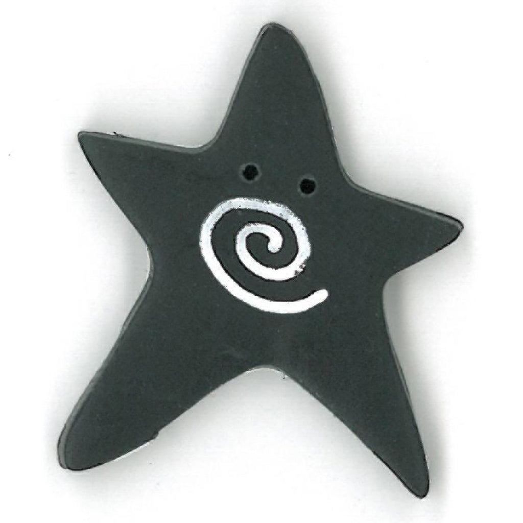 extra large black swirly star