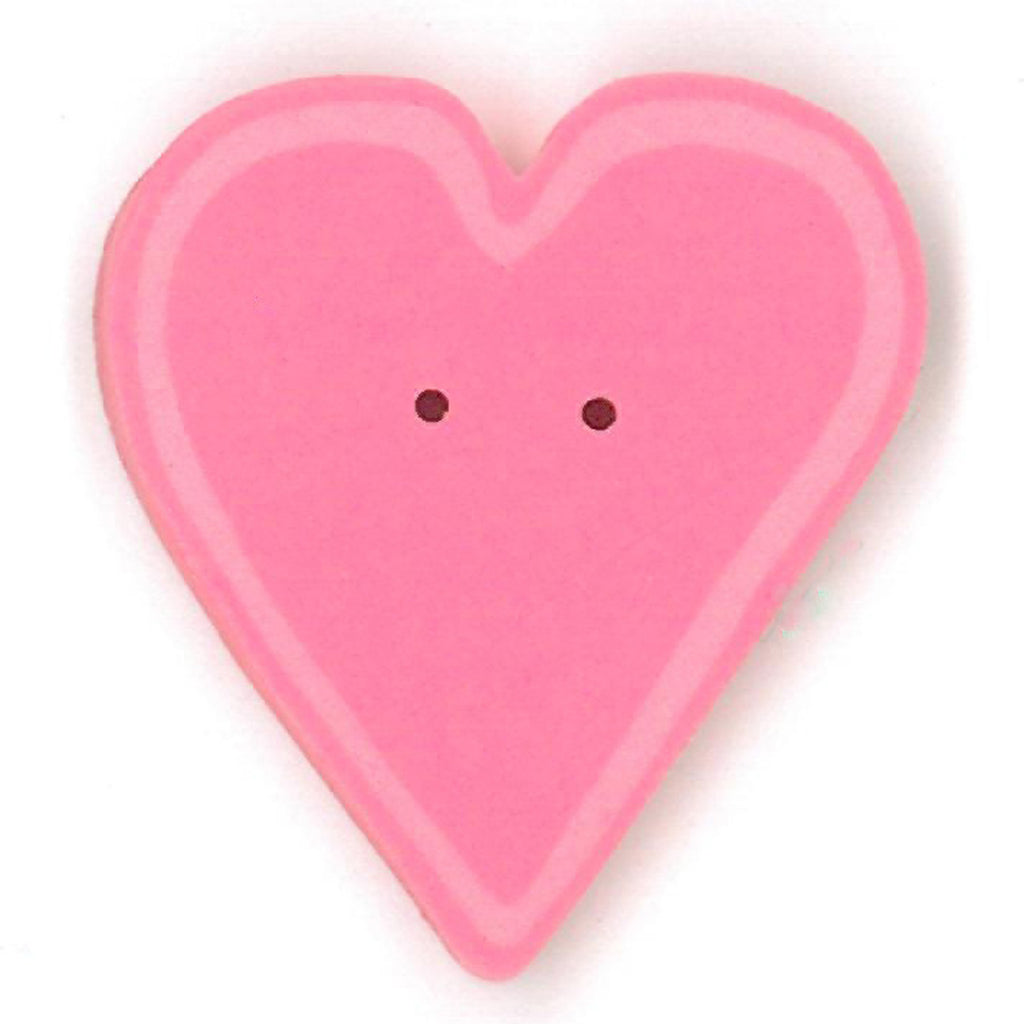 large happy pink heart