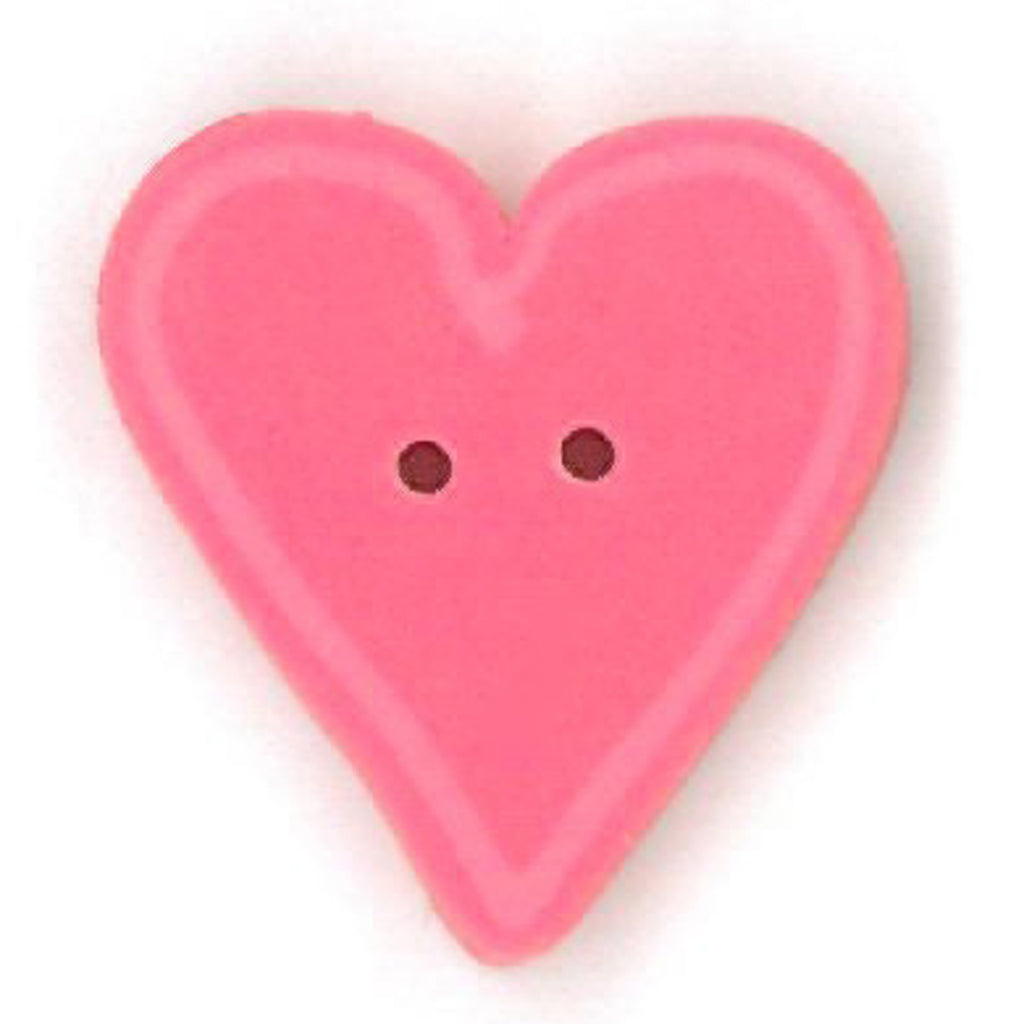 small happy pink heart