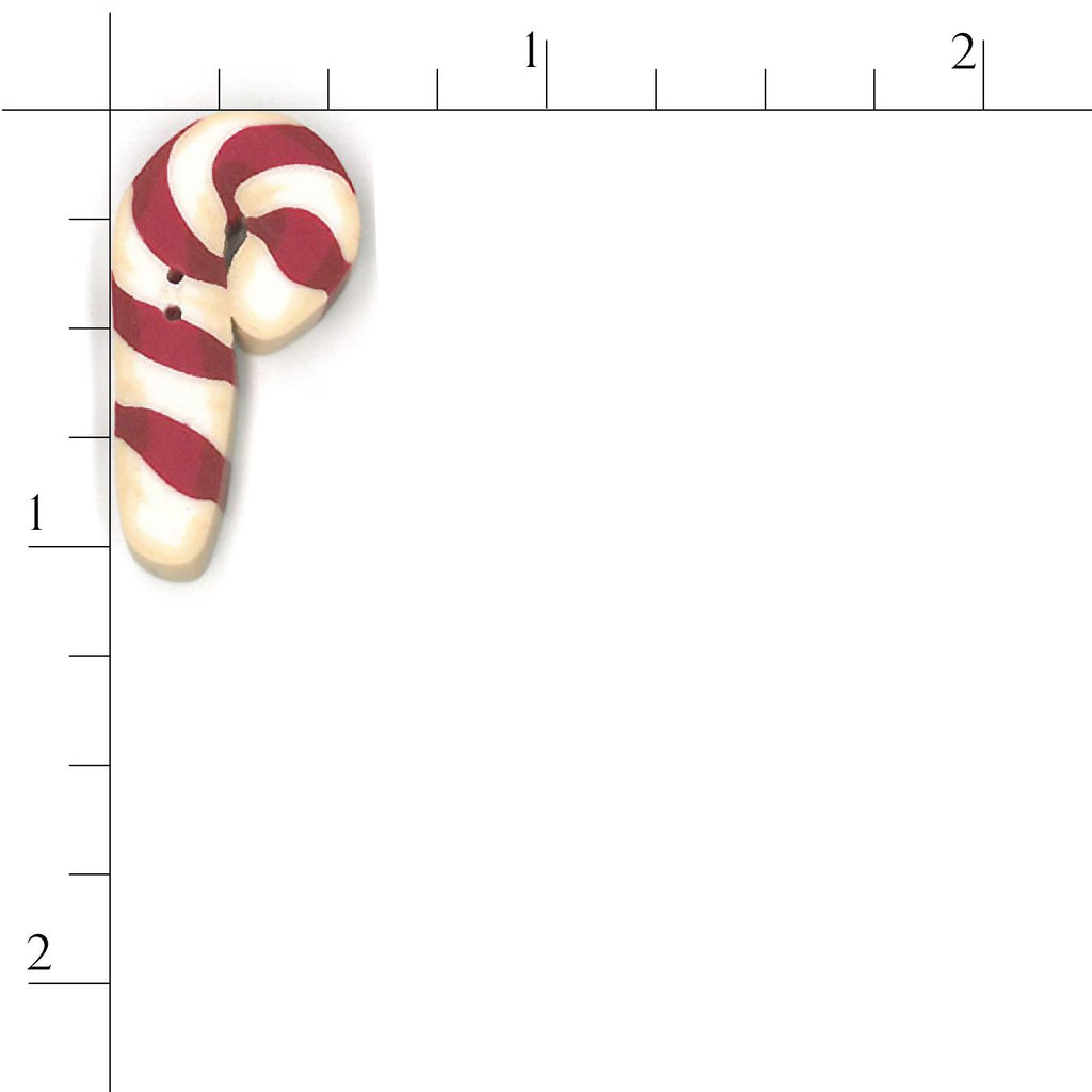small flat candy cane