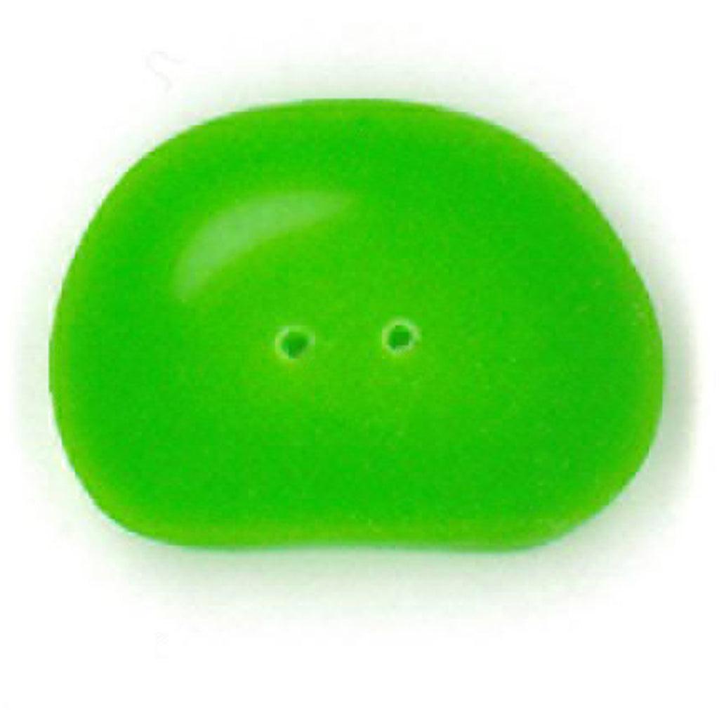 green jellybean, large