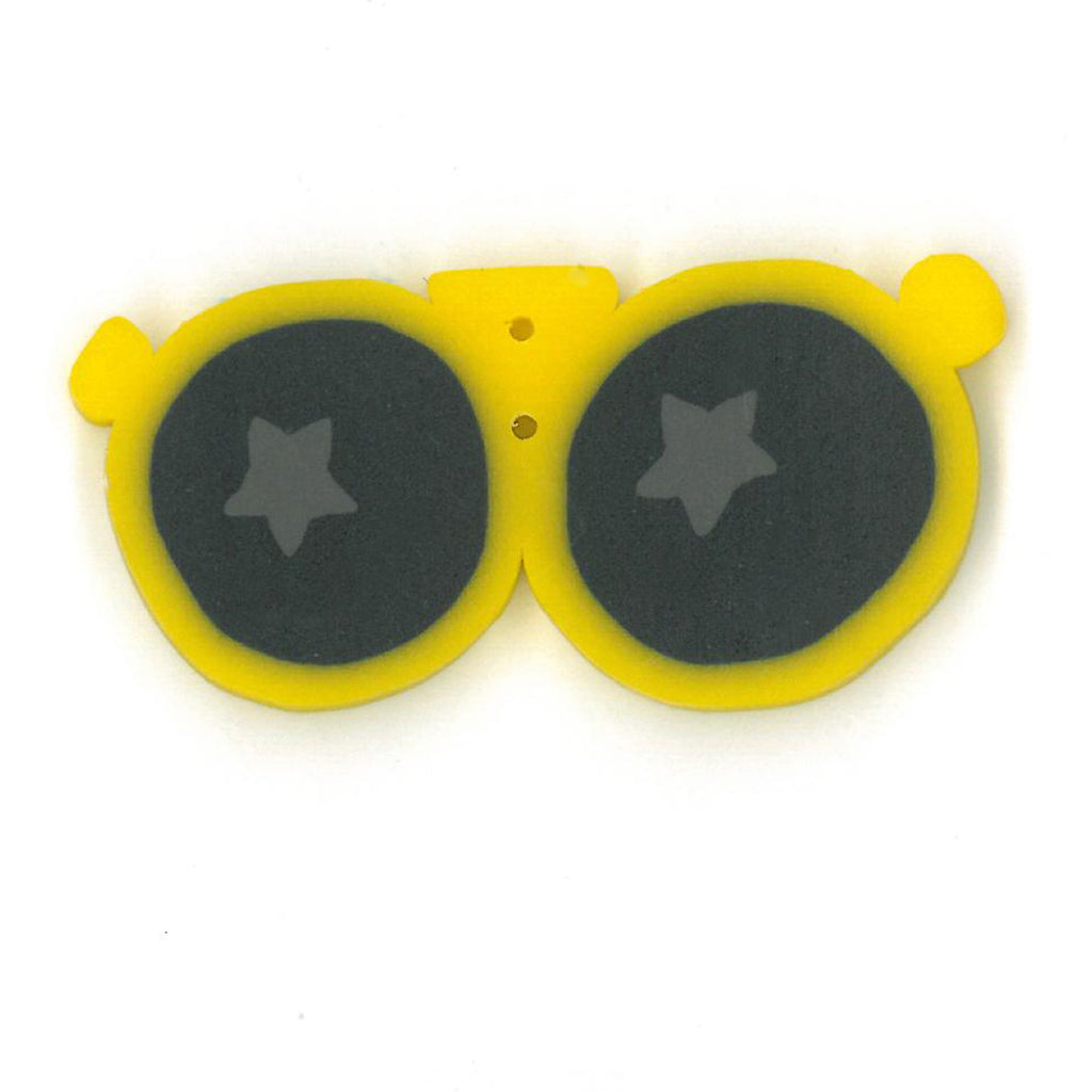 large yellow sunglasses