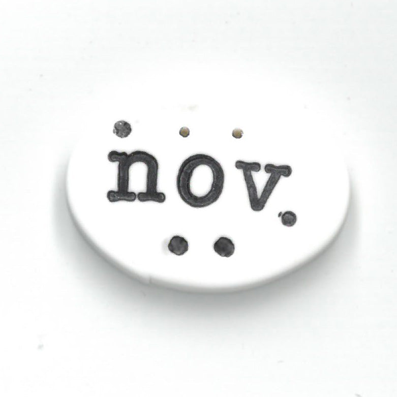 November Tag - Just Another Button Company