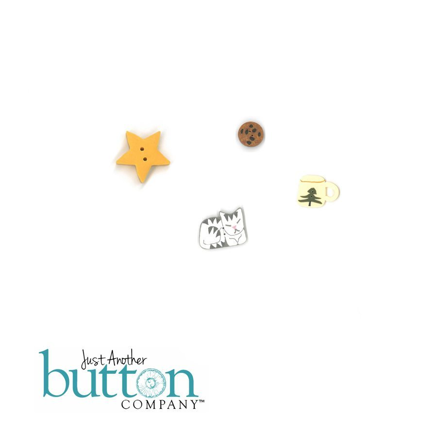 Just Another Button Company Cookies for Santa Button Pack