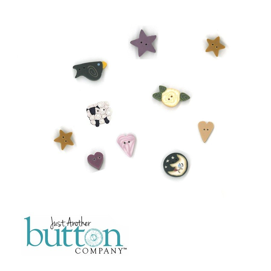 Just Another Button Company button pack for Shepherd's Bush Bethlehem Christmas