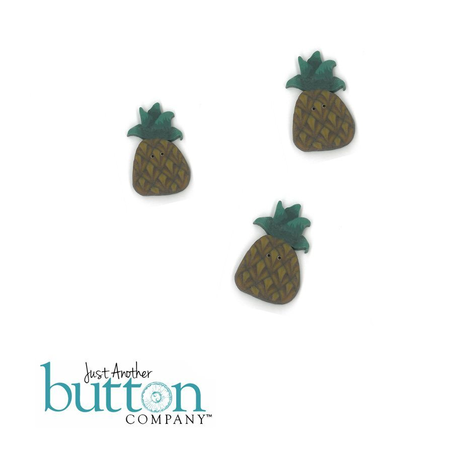 just another button company button pack for fanci that pineapple welcome