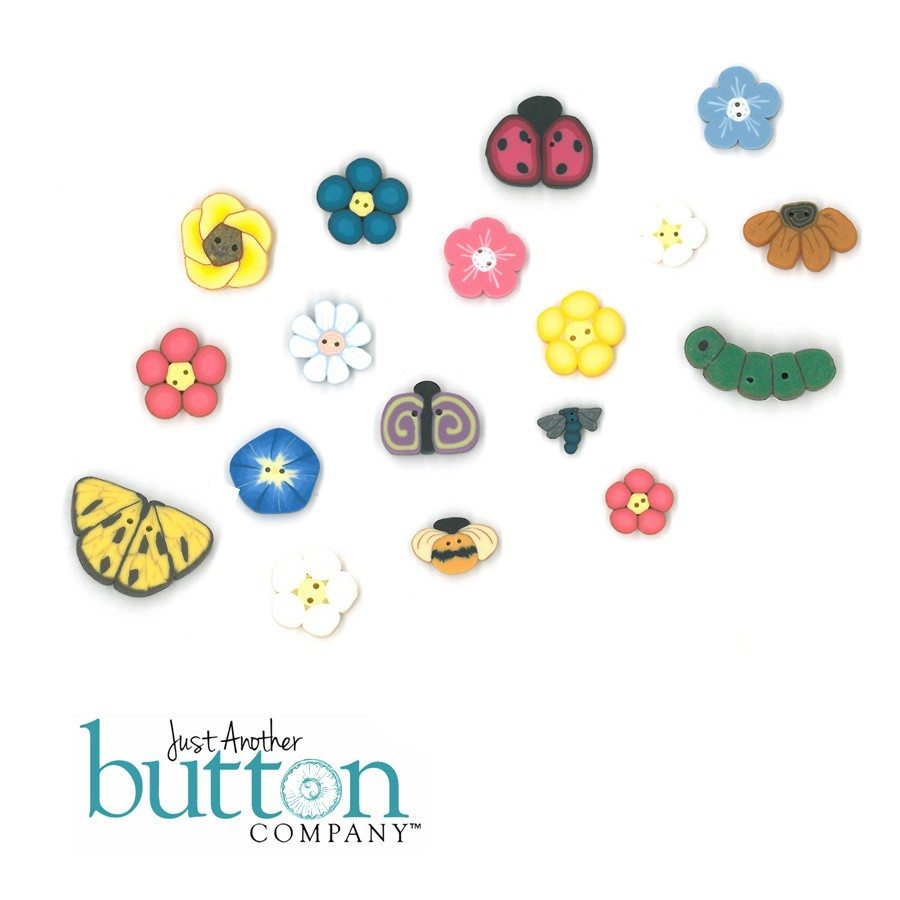 Just Another Button Company Button pack for bits n pieces garden bracelet