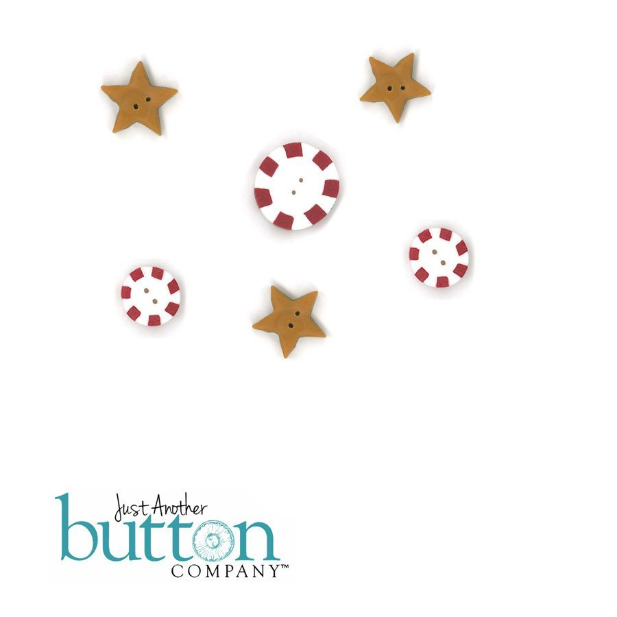 Just Another Button company button pack for cottowood creations christmas crew
