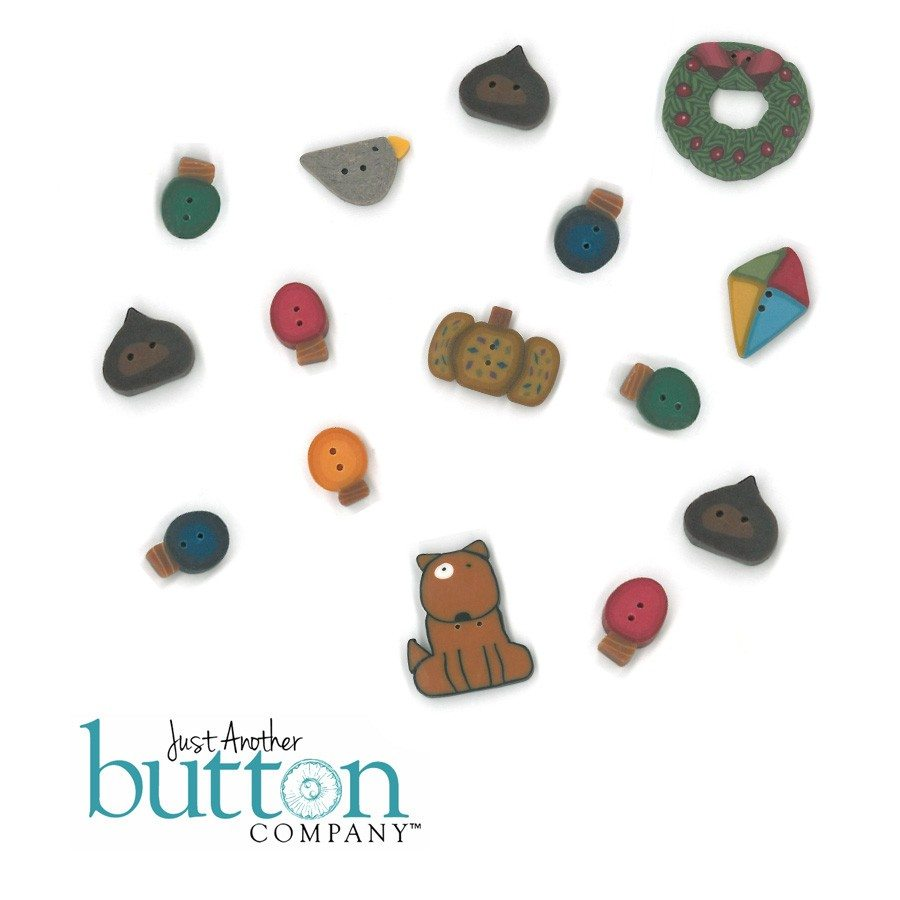 Just Another Button Company Love Thy Neighbor Button Pack