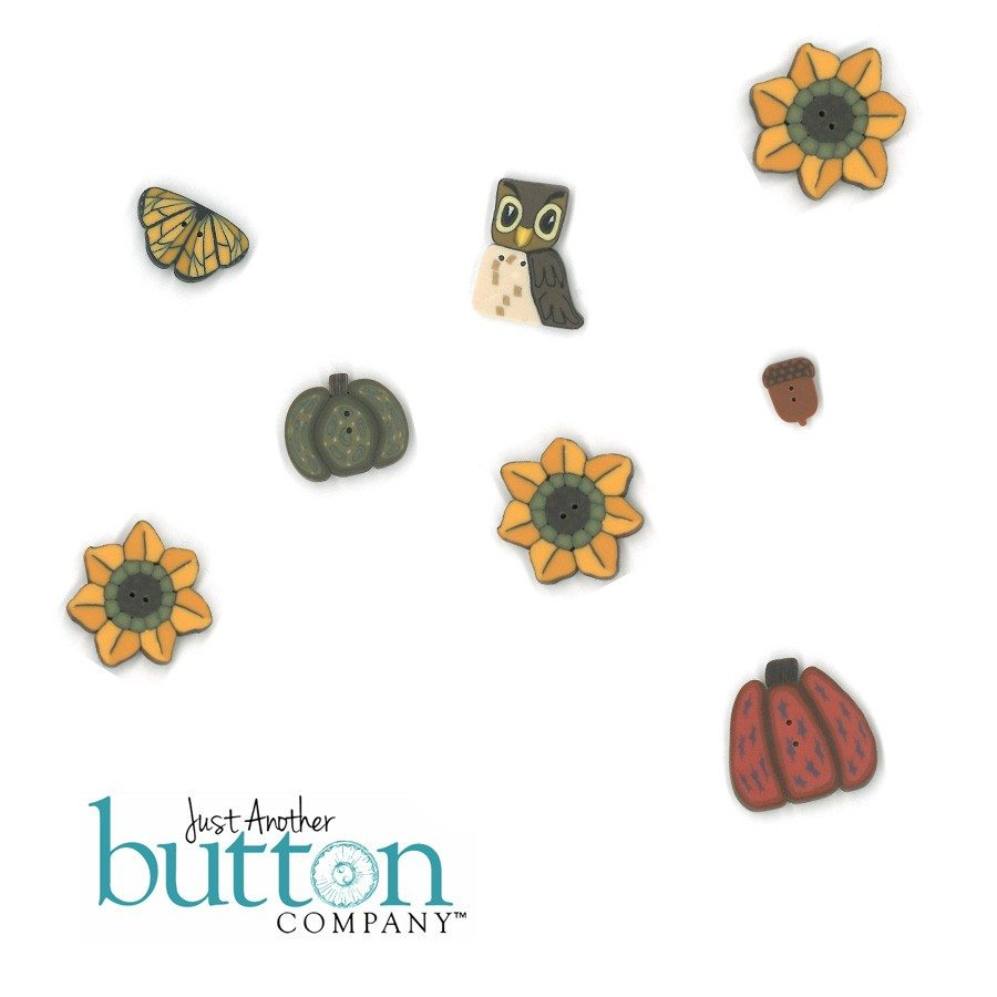 Just Another Button Company Turkey Dressing Button Pack