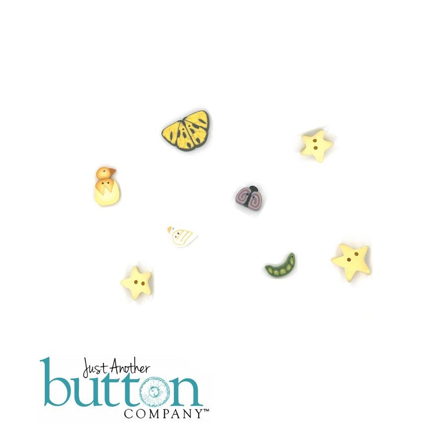 Just Another Button Company Sweet Pea Button Pack