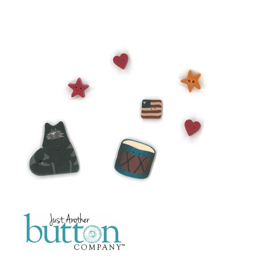 Just Another Button Company Liberty Fence Button Pack