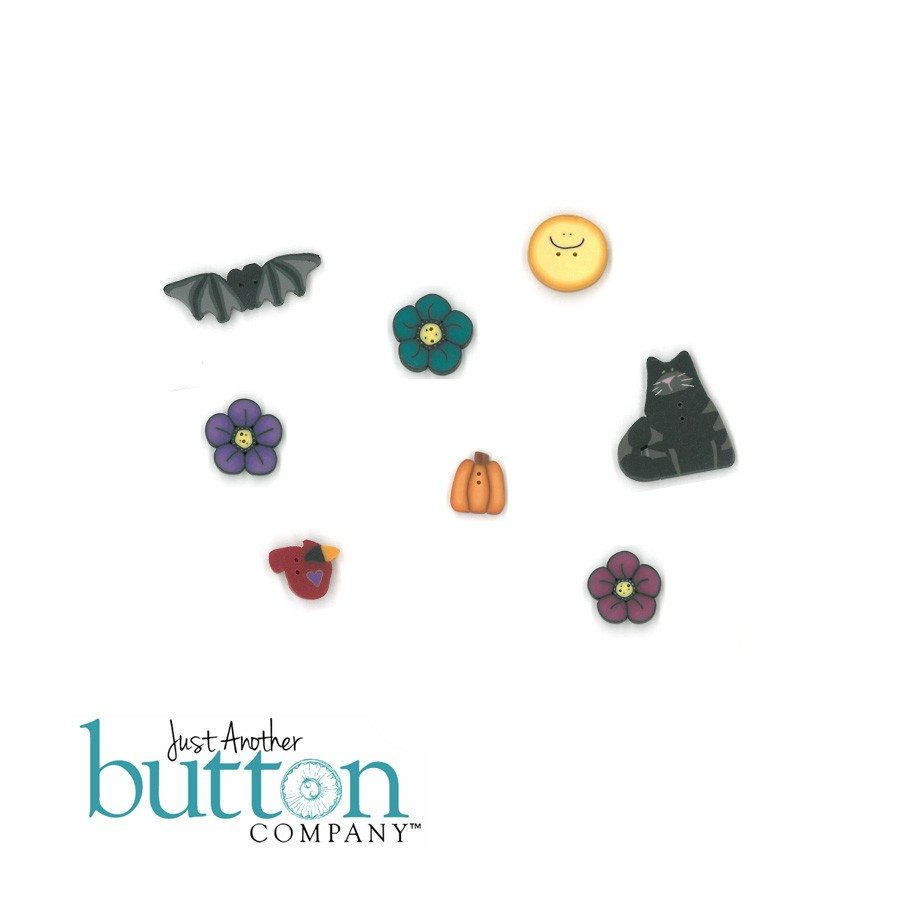 Just Another Button Company Crabby October-December Button Pack