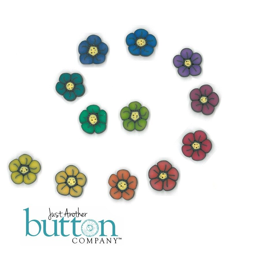 just another button company button pack for bits n pieces wildflower bracelet
