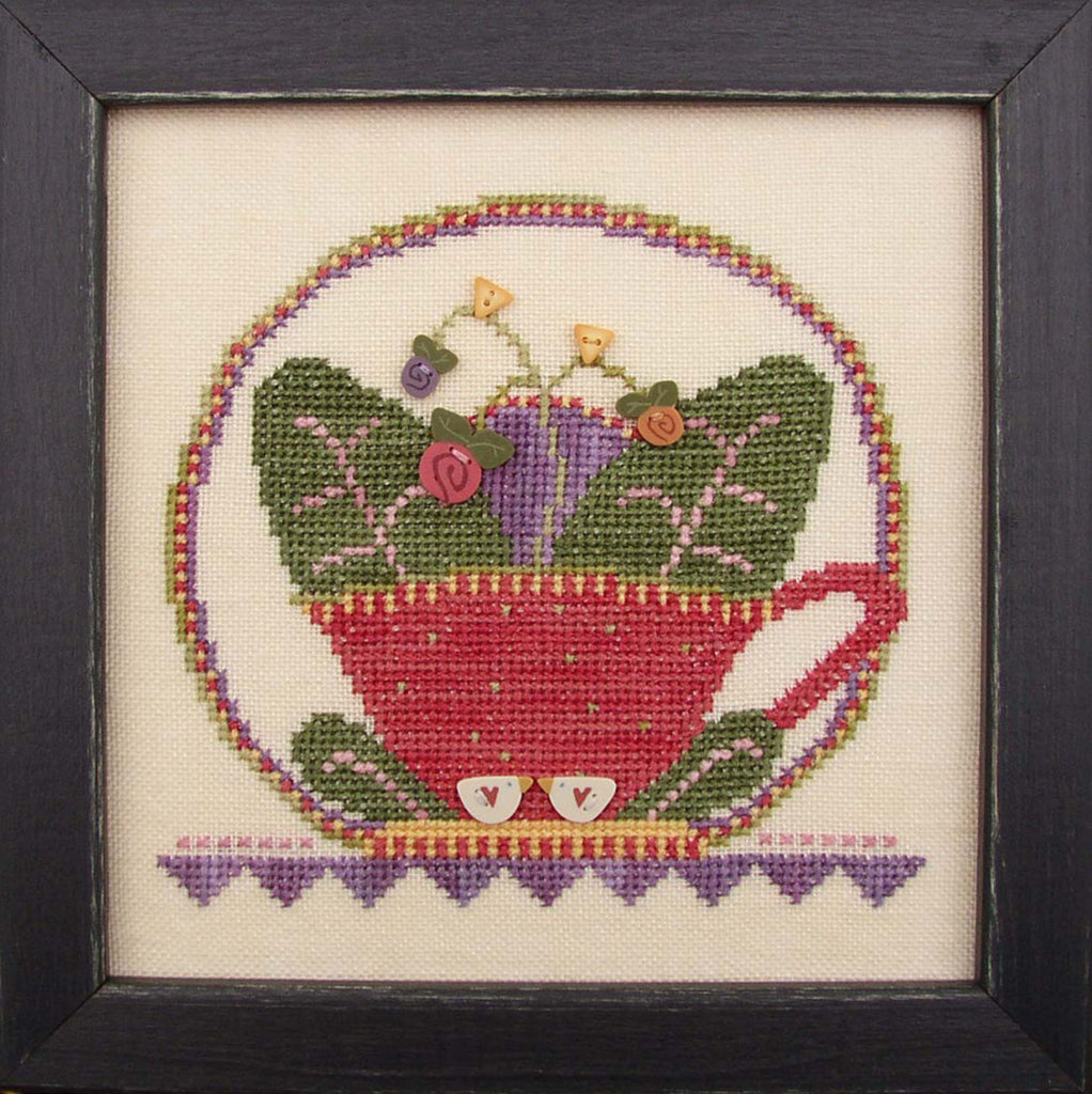 JABC - Cross Stitch Patterns - Cup O' Tea February