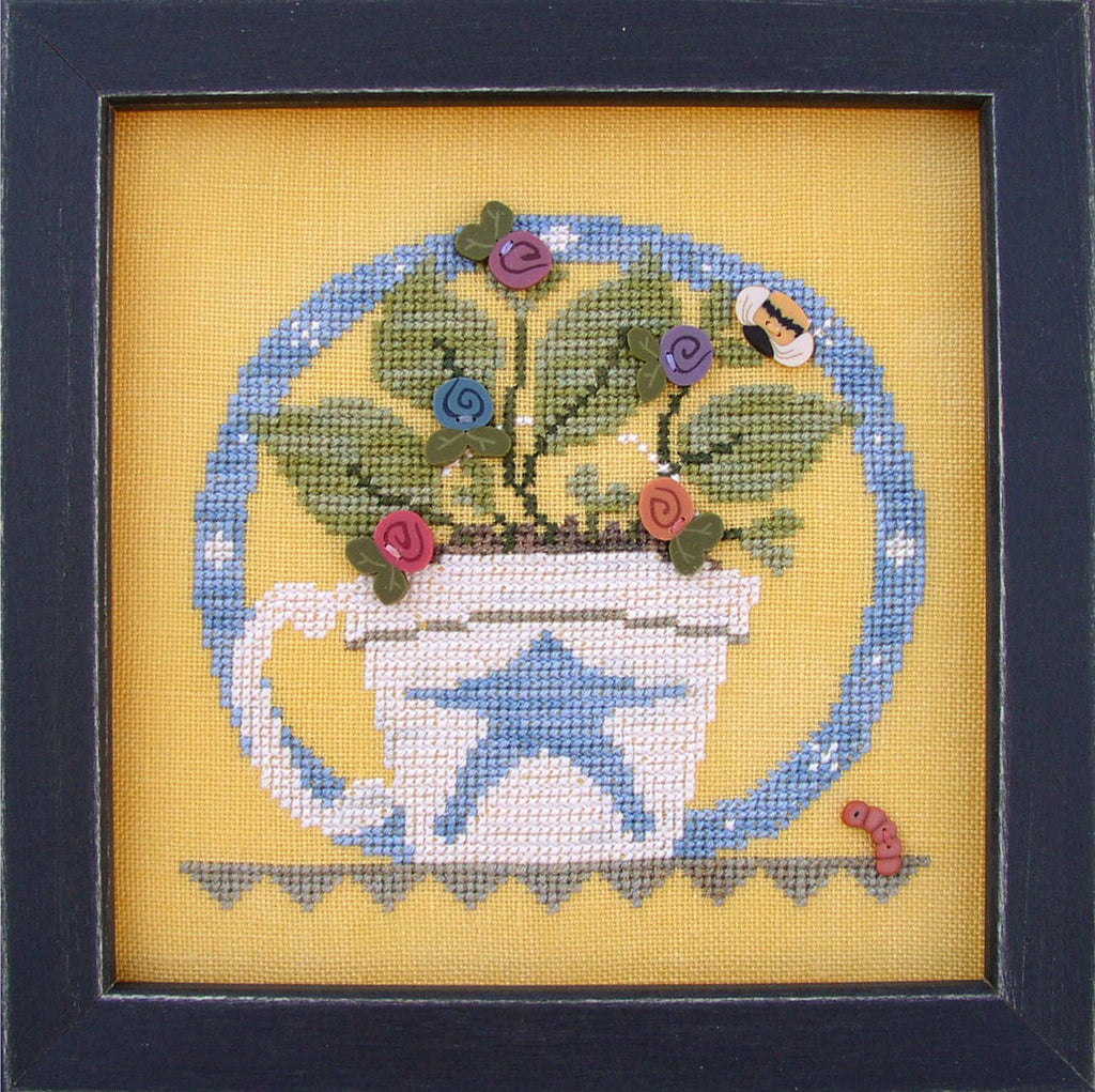 JABC - Cross Stitch Patterns - Cup O' Tea May