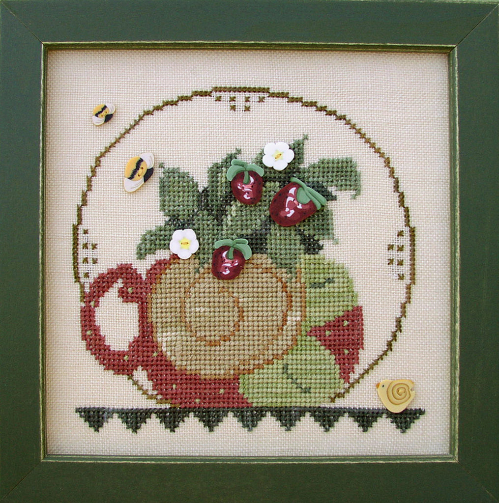 JABC - Cross Stitch Patterns - Cup O' Tea June