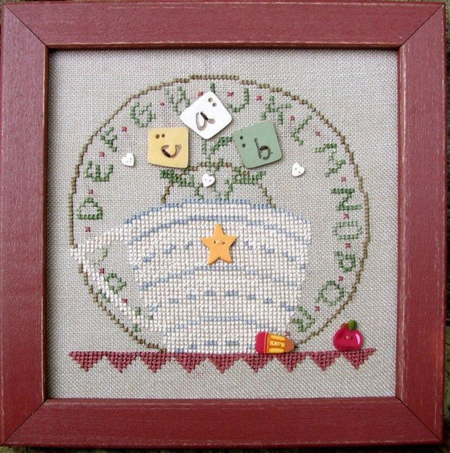 JABC - Cross Stitch Patterns - Cup O' Tea September
