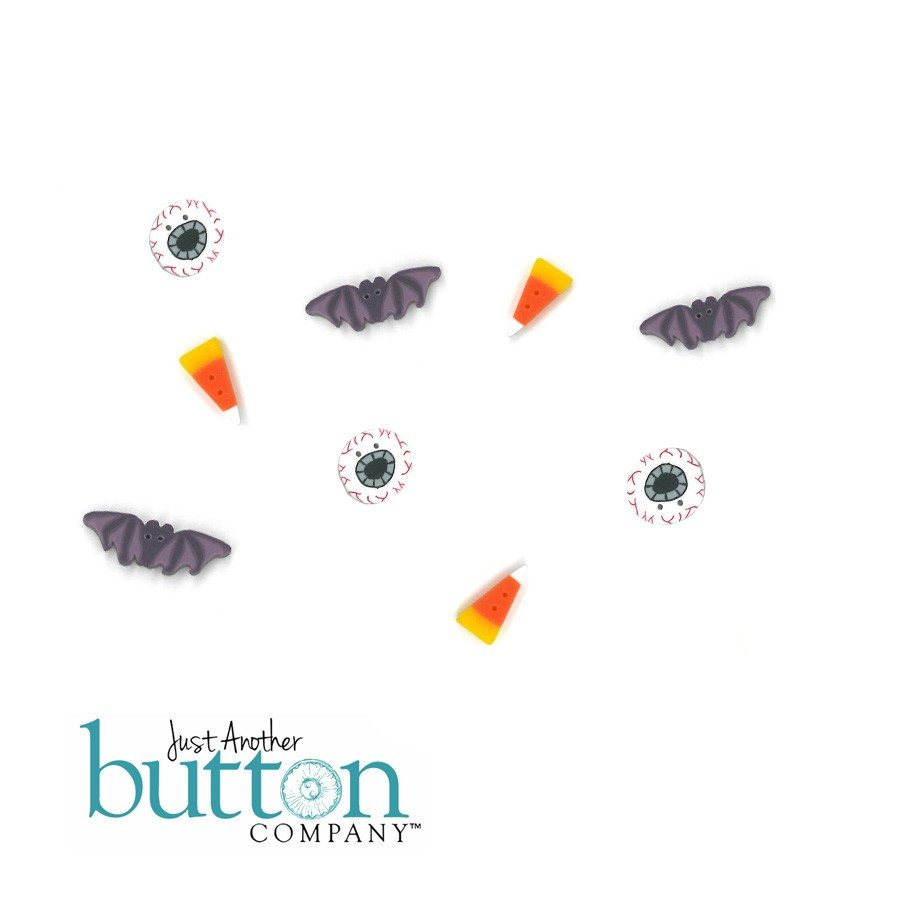 Just Another Button Company button pack for hands on designs roly poly halloween