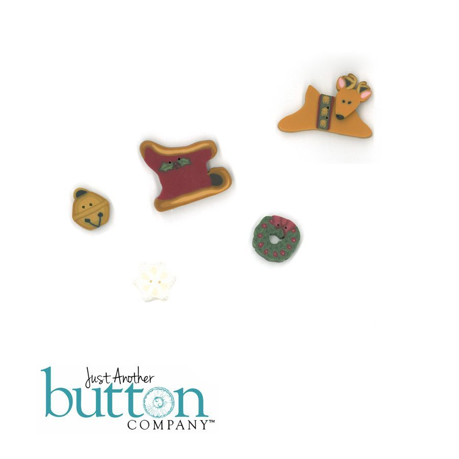Just Another Button Company button pack for fireside originals Christmas Court