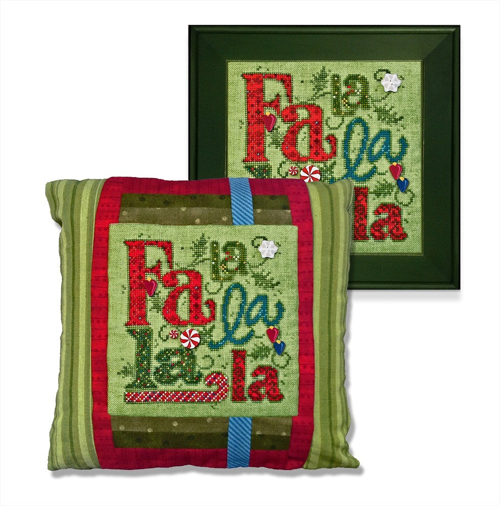 JABC - Cross Stitch Patterns - Fa La La