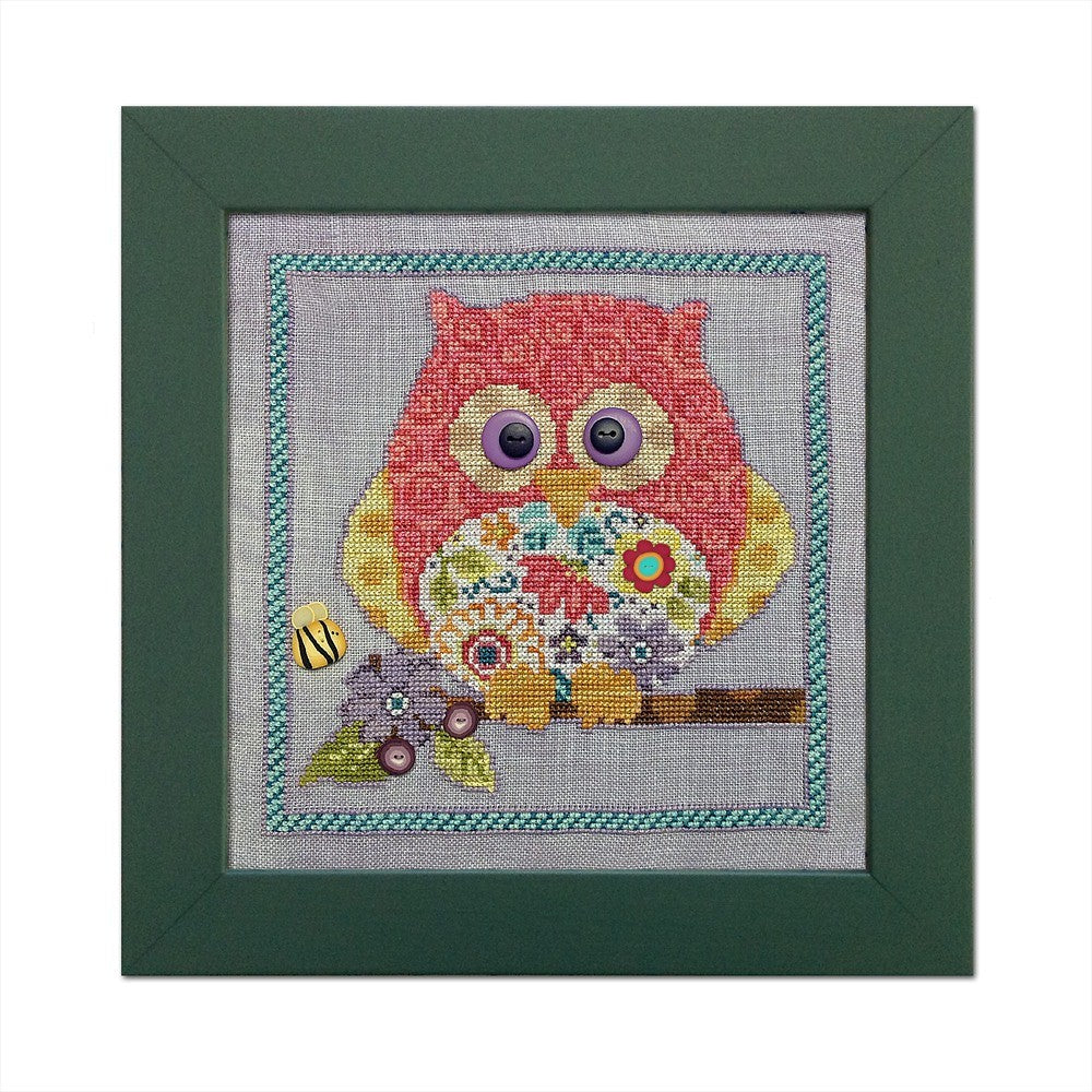 JABC - Cross Stitch Patterns - Curious Owl