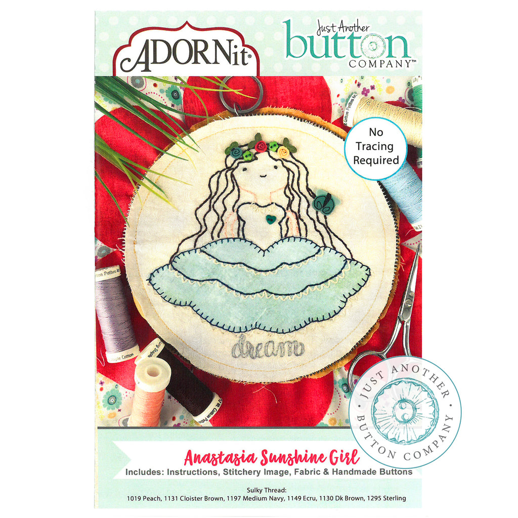 Embroidery Kit - Anastasia